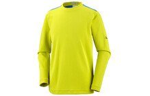 Columbia Boy's Bug Shield Long Sleeve Shirt chartreuse